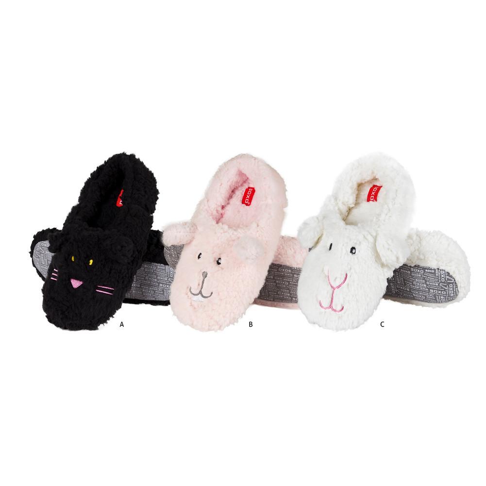 Soxo Women S Plush Animal Slippers Ballerinas Slippers