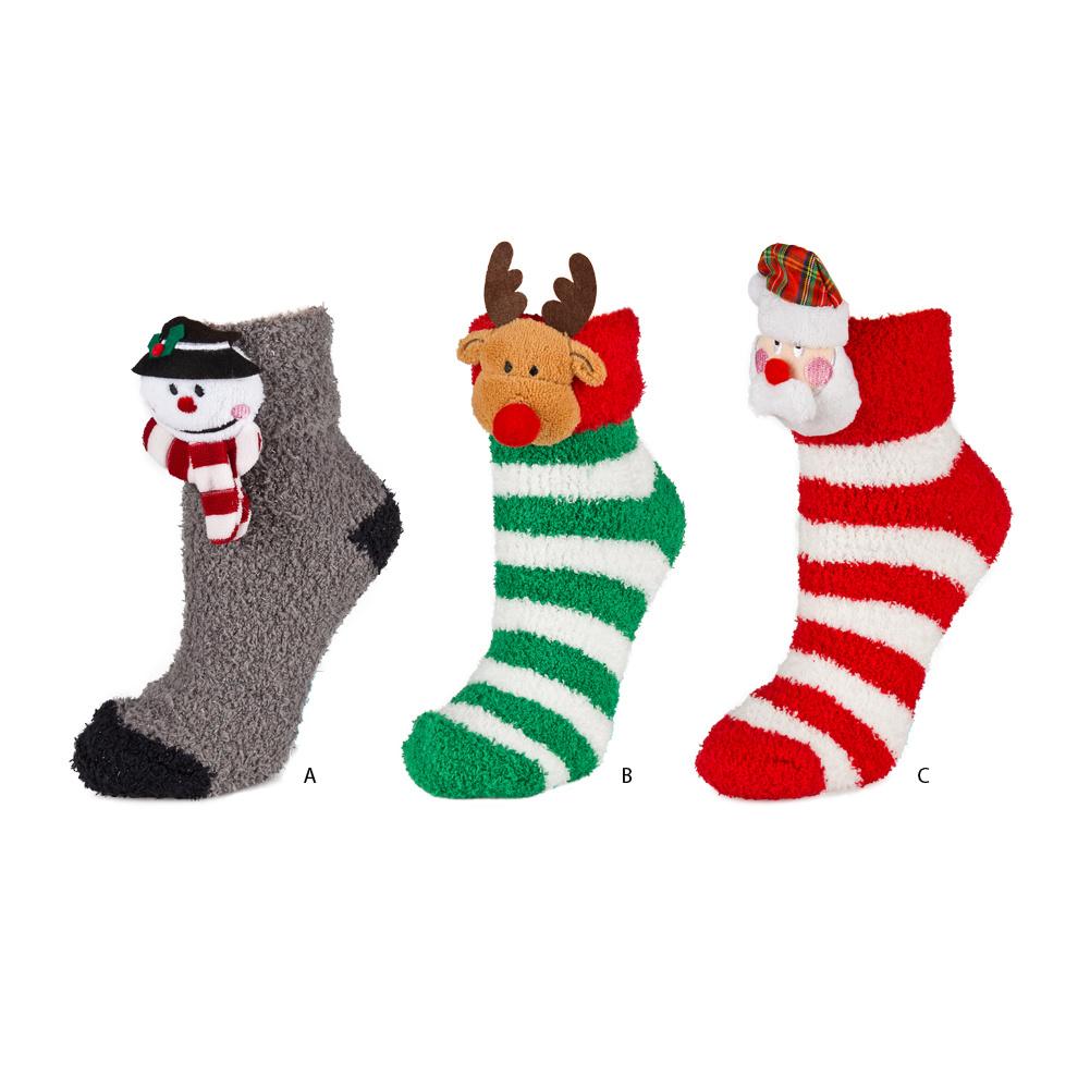 SOXO Chenille Socken Kollektion Weihnachten | Frauen \\ Socken ...
