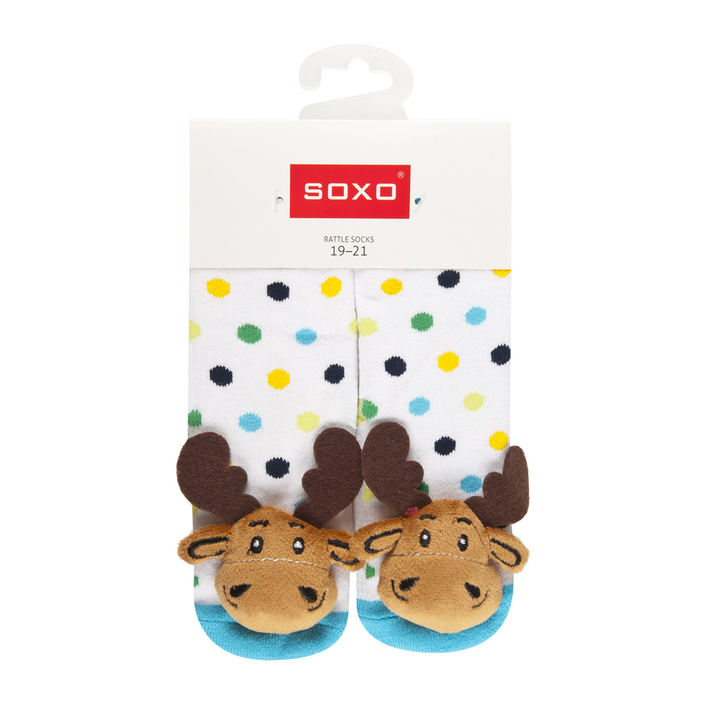 Soxo Rattle Socks Abs Babies Socks Wholesale Socks Slippers
