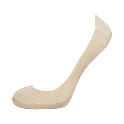 Ladies footies SOXO one color- nude