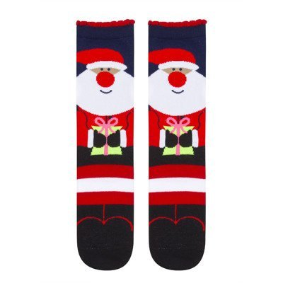 "SOXO Women's Christmas socks - ""Santa Claus"""