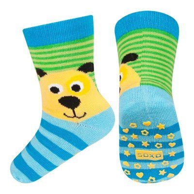 SOXO baby socks with abs - DOG