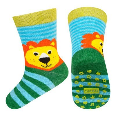 SOXO baby socks with abs - LION