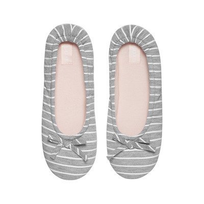 Women's slippers BALLERINS SOXO striped - pink