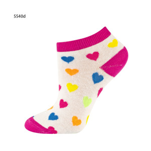 "Children's footies ""Mixed up!"" SOXO - colorful patterns"