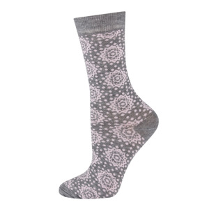 DR SOXO women's socks made of bamboo fiber - colorful patterns