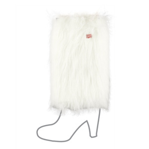 SOXO Women's furry leg warmers - MIX of colors