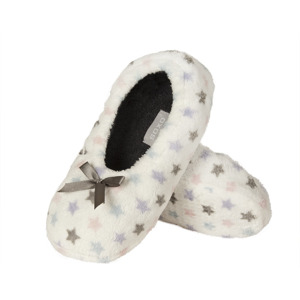SOXO Women's soft ballerina slippers with patterns