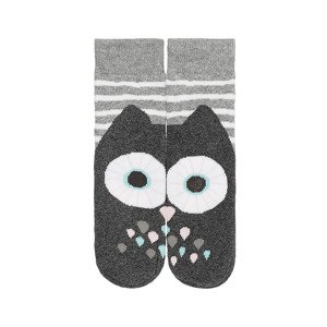 SOXO children's socks - Gray Owl