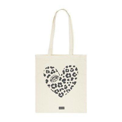 Cotton bag - 'Heart with lips""