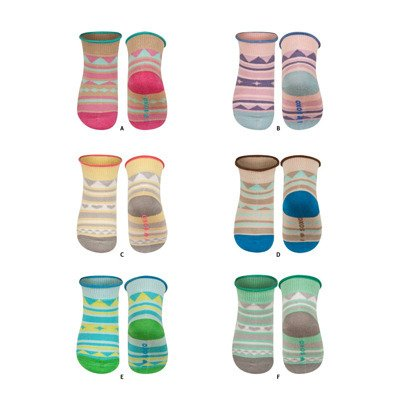 DR SOXO Infant modal socks with patterns