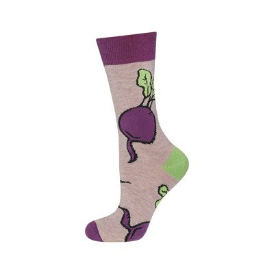 Good Stuff Women socks 'Beetroots'