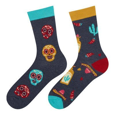 Good Stuff Women socks witch Mexico