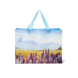 Lupine shopping bag
