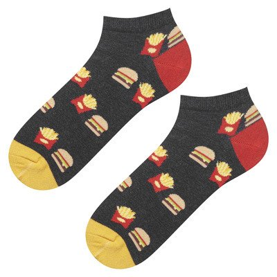 "Mens footies  GOOD STUFF ""Fastfood"""