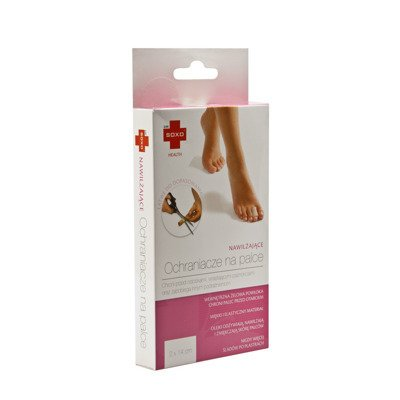 Moisturizing DR SOXO toe protectors - SPA gel coating