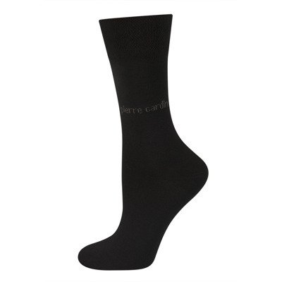 PIERRE CARDIN men's socks - black