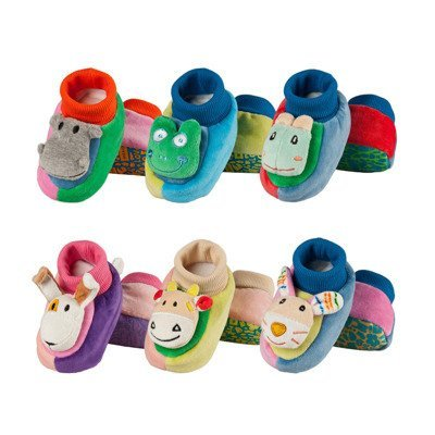 "SOXO Baby slippers with abs - ""Animals"""