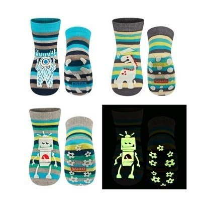 SOXO Children's glow in the dark socks