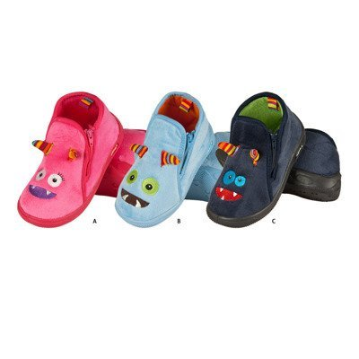 "SOXO Children's slippers ""monsters"" with TPR"