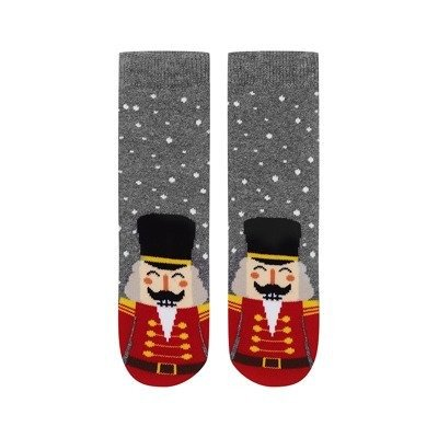 SOXO Christmas baby socks 'Nutcracker'