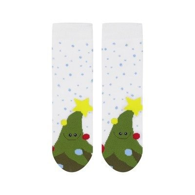 SOXO Christmas baby socks 'X-mas tree'