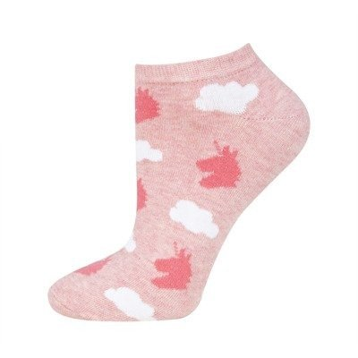 SOXO GOOD STUFF sneaker socks with pattern