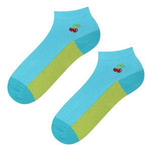 SOXO GOOD STUFF socks - cherry