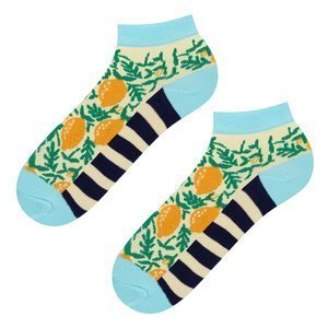 SOXO GOOD STUFF socks - lemon