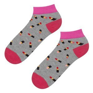 SOXO GOOD STUFF socks - lipsticks