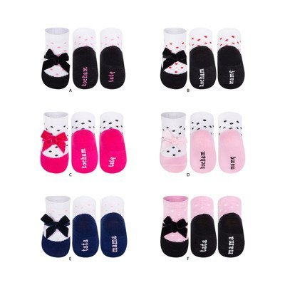 SOXO Infant ballerina socks (polish text)
