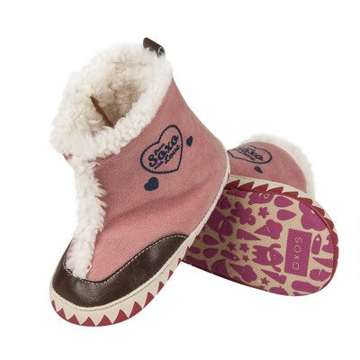 SOXO Infant high boot slippers