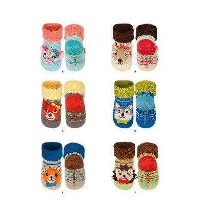 SOXO Infant rattle socks PREMIUM