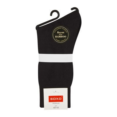 SOXO Men's business bamboo socks PREMIUM