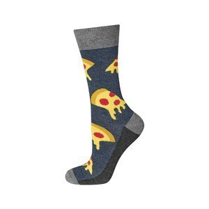 SOXO Men's footies with pizza