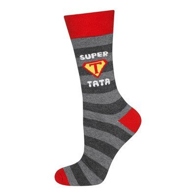 "SOXO Men's socks - ""Super Tata"""