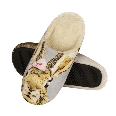 SOXO Photo slippers with bunny