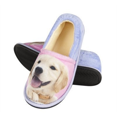 SOXO Photo slippers with doggy