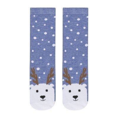 "SOXO Women's Christmas socks - ""Reindeer"""