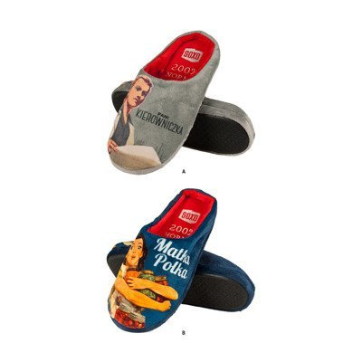 SOXO Women's PRL slippers (Polish text)
