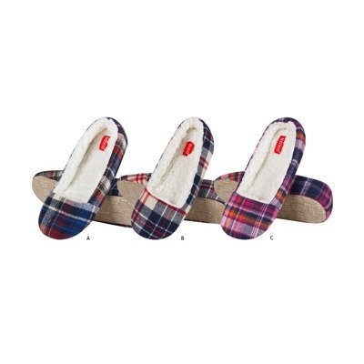 SOXO Women's checkered slippers PREMIUM