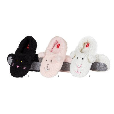 SOXO Women's plush animal slippers