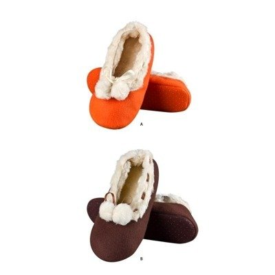 SOXO Women's premium ballerina slippers with furry