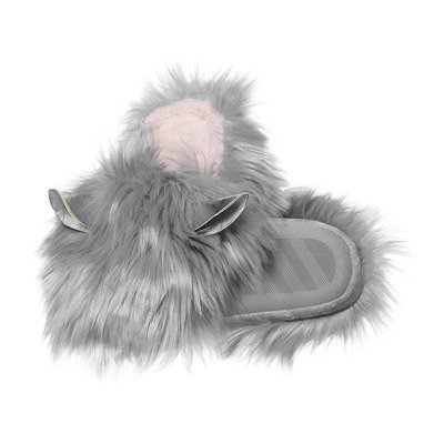 SOXO Women's slippers 'Furball' grey