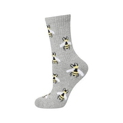 SOXO Women's socks half terry 'Bees'