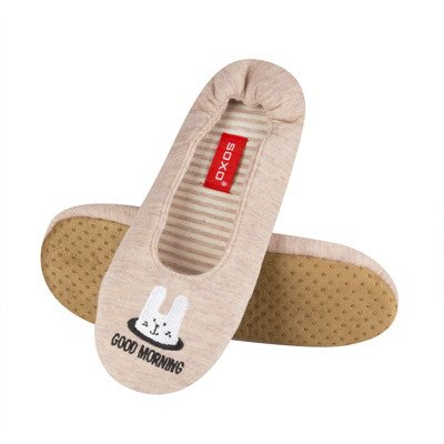 SOXO ballerina slippers with application