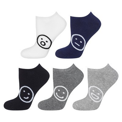 SOXO feet of days of the week BASIC - 5 pack