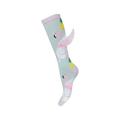 SOXO  knee socks  'Flamingo with wings'