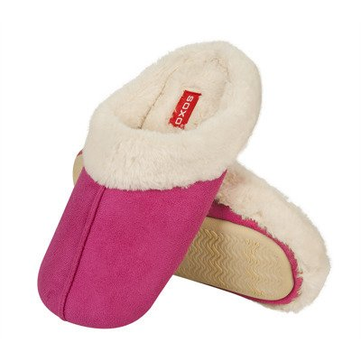SOXO slippers with fur