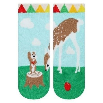 SOXO socks for girls deer
